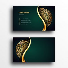 Premium Business Cards, Luxury Business Cards, Elegant Business Cards, Business Card Logo, Business Card Design, Business Presentation Templates, Presentation Cards, Visiting Card Design, Bussiness Card