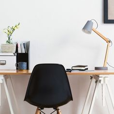 We simply can't get enough of our new Jerup Table lamp! With a lovely work space like this, it even makes us want to work on a Saturday. Happy weekend! #home #interior #inspiration #workspace #decor #design #lighting #weekend