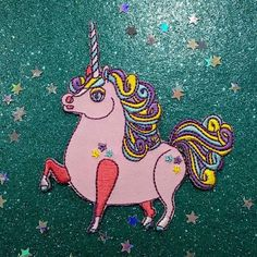 Ponycorn patches! Yay!  . #unicorn #ponycorn #patchescustom #patches