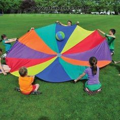 Parachute Games for kids Ball Roll Sports Day Activities, Field Day Activities, Field Day Games, Activities For Kids, Camping Games, Camping Activities, Outdoor Activities, Parachute Games For Kids, Sports Day Poster