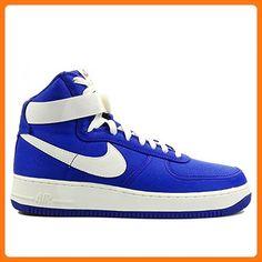 Nike Air Force 1 High Retro Mens Hi Top Trainers 832747 Sneakers Shoes (US 9.5, concord sail team orange 400)