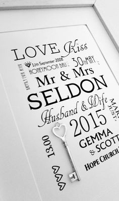 Free Giveaway: Fully Personalised Wedding Day Print #giveaway ! With Lucky Silver Key   #wedding #win #free U.K ENTRY ONLY !   Good Luck !  www.wowlovethis.co.uk    Enter Here: http://www.giveawaytab.com/mob.php?pageid=1548622002075438