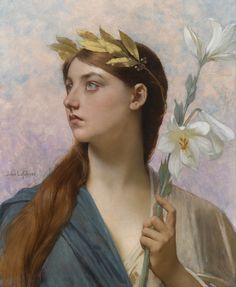 Color & Light - Jules Joseph Lefebvre - An allegory of victory