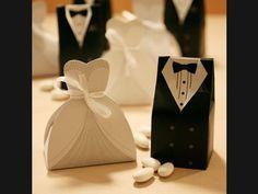 Lembranças de casamento: caixas noivinha e noivinho