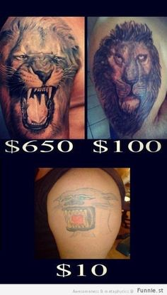 When You Save Dollars On Tattoos (32 Photos)-You get what you pay for. Do your research and spend the money. Different artist specialize in different areas. know what you want, where you want it, and who will do it best. No matter the cost. It will be on your body your entire life.....