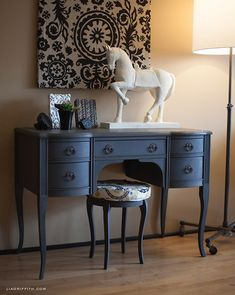 Gorgeous furniture finished with Chalk Paint® decorative paint by Annie Sloan | Lia Griffith