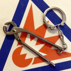 Miniature Pipe Wrench Keychain