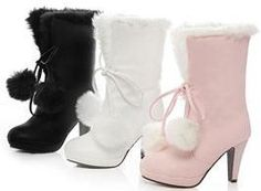 Free shipping p691 ankle half high heel ladies sexy fashion causual boots size 34-39 $41.99