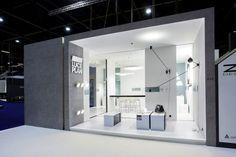 Luceplan Booth - www.standbeeld.be #exhibition #design #booth #event #marketing #sign #tradeshow