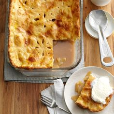 Deep-Dish Apple Pie Recipe -This recipe is a winner! The crust is so flaky and the filling is sure to please everyone. —Salem Cross Inn, West Brookfield, Massachusetts