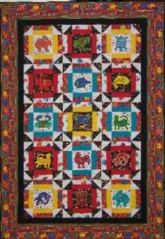 Beautiful new quilt from my favorite quilt store in ABQ, NM