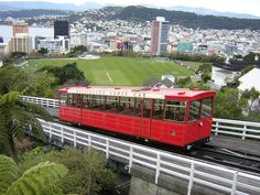 The Kelburn Cable Car ride is a Wellington Institution. It is symbolic of Wellington as it leads from the old Lambton Quay area up through the Botanic Gardens and Victoria University ending in Kelburn.  By William M.