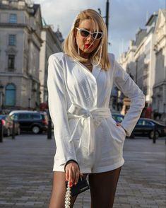 #pegahpourmand wearing #michaelcostello during #lfw #aw2020 Michael Costello, Wrap Dress, Shirt Dress, How To Wear, Shirts, Dresses, Fashion, Shirtdress, Fashion Styles