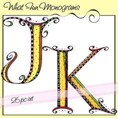 What Fun Monograms