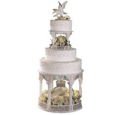 Wilton Wedding Cake Flower Holder Ring Floral Fountain Cake Decorating Prop NEW  sc 1 st  Pinterest & imposing Gallery Wilton Wedding Cakes | Wilton Wedding Cakes ...