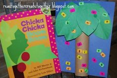 Read Together. Create Together.: Chicka Chicka Boom Boom! by Bill Martin Jr and John Archambault.. Crafts and activities inspired by reading picture books together.