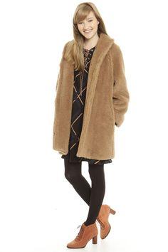 Cappotto, cammello - Diffusione Tessile