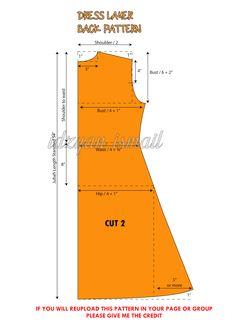 Pola Dress Layer / Layer Dress Pattern - Proud Sewist