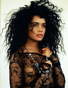 The photo I just uploaded of Zoe made me think of her mom.     Lisa Bonet tribute coming soon.