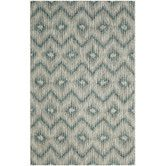 Found it at Wayfair - Courtyard Gray & Blue Area Rug