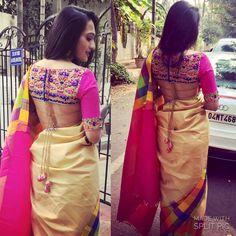 "261 Likes, 9 Comments - Miss. RameshKumar (@bhavanarameshkumar) on Instagram: ""Colours !! So mannnnyyy colours !!! ❤️ #sareeloving"""