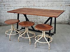 Holy Funk - Industrial Style Dining Table, $399.00 (http://www.holyfunk.com.au/furniture/industrial-style-dining-table/)