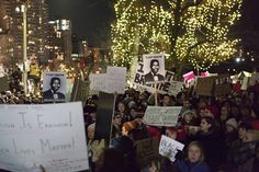 Believe Christmas in New York 2014 | ... New York chokehold case during the Christmas tree lighting ceremony in