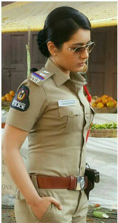 Indian Model Rashi Khanna Photos In Police Dress