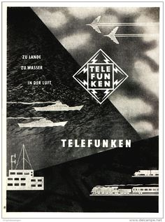 Original-Werbung/ Anzeige 1959 - TELEFUNKEN - ca. 115 x 155 mm