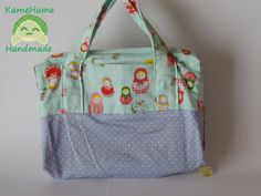 Bolsa Estudante Matrioshka by KameHameHandmade on Etsy, ¥3225