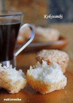Zdjęcie: Kokosanki, bezglutenowe pyszności Gluten Free Recipes, Healthy Recipes, Healthy Food, Cake Cookies, Dairy Free, Nom Nom, Food And Drink, Sweets, Cooking