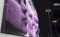 MegaFaces: Architect Asif Khan's kinetic façade for the Sochi 2014 Winter Olympics