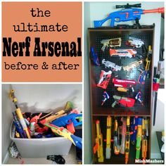 MishMashers: The Ultimate Nerf Arsenal