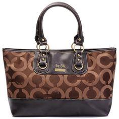 Coach Authentic Op Art Diaper Bag Tan Coach Handbags Outlet ac7eb0e515480
