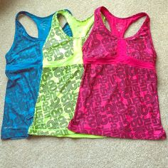 Nike Dri Fit Sports Tops! Nike Dri Fit Sports Tops! All size small and only worn once, still in like new condition. $30 for 1 or $80 for all 3. Super cute style! Nike Tops Tank Tops