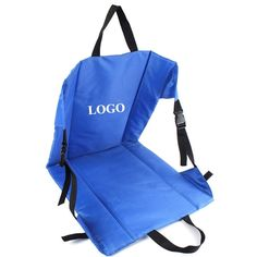 Foldable Stadium Camping Cushion with Backrest