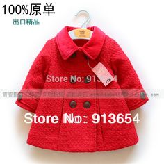 28.00$  Know more - http://aia5r.worlditems.win/all/product.php?id=1522928095 - new 2015 spring Autumn baby outerwear top girl's fashion coat baby clothing child double breasted jacket kids outerwear