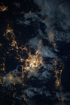 Orlando and central Florida. Taken September 18, 2013 by astronaut Karen Nyberg aboard the ISS.