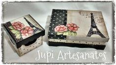 Jupi Artes: Porta Jóias e Porta Batons