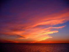 Sunset. Southampton.