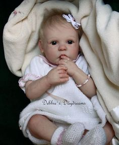 Gracie by Anne Timmerman - Online Store - City of Reborn Angels Supplier of Reborn Doll Kits and Supplies
