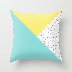 Geometry love Throw Pillow    #society6 #promo #throwpillow #graphicdesign #vector #pastel #pastelcolors #fashion #accessories #style #homedecor #bedroomdecor #bedlinen