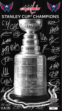 2 of our former players on there Washington Capitals Stanley Cup, Washington Capitals Hockey, Caps Hockey, Hockey Games, Hockey Baby, Ice Hockey, Alexander Ovechkin, Alex Ovechkin, We Are The Champions