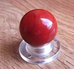 Vintage Marbles Antique Akro Agate FLINTIE Swirl Marble MINT