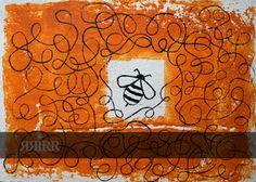 HACIENDO MIEL   pintura en acrílico sobre bastidor de papel reciclado   70x50   RRiRR Ricardo Gil Turrion