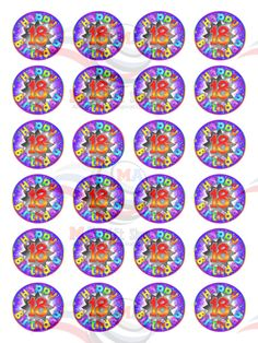 35 x Pansy Flower Mix Colour Fab Cake Cupcake Toppers Edible Wafer