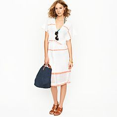 perfect for the beach! jcrew