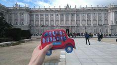 En Madrid  (Palacio Real) Madrid, January 28, Palaces, Fotografia