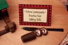 Activity: Practice Your SAWing Skills  {via Piggy Bank Parties}