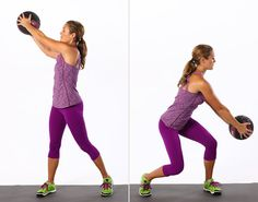 Skip the crunches! Standing ab exercises.